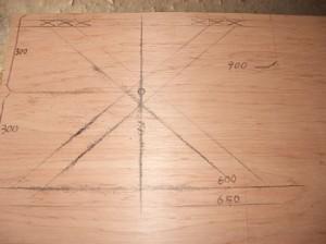 テーブル原寸図