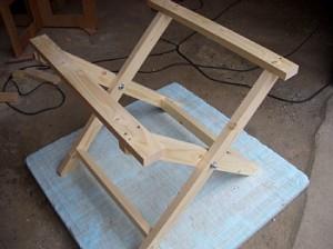 テーブル足の組み方