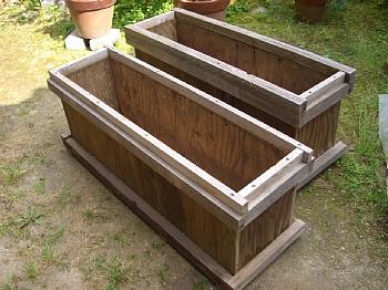 手作り木製コンテナ