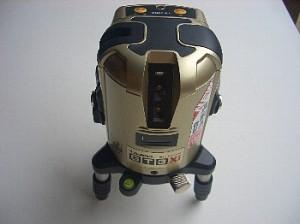 レーザー型水平器