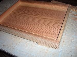 木箱蓋の組立