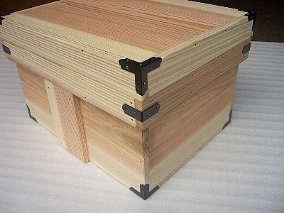 diyで簡単に蓋付きや釘なし、強度のある丈夫な木箱の作り方