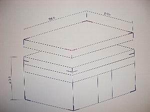 木製貴重品庫(木箱)イメージ図