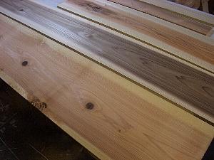 木箱加工前杉板