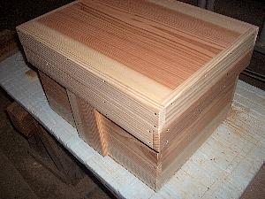木箱の補強