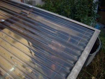アルミテラス屋根の構造