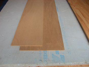 直線定規用合板
