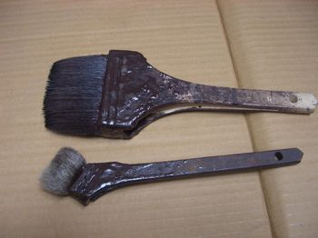 油性塗料用の刷毛